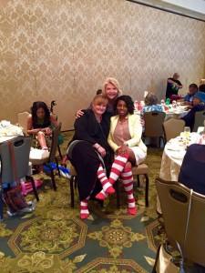 Spring Tea 2015 Sock Winner