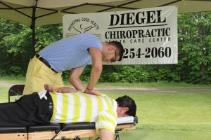 Vinni Golf Outing sponsor - Diegel Chiropractic