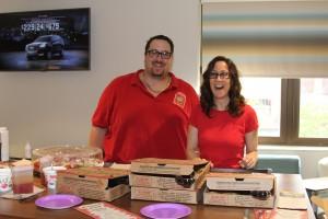 Pizza Sponsors - Garden Party