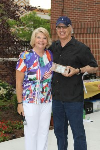 Honoring Gary Granader at Garden Party
