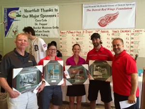 Vinni's Golf Outing Auction Winners