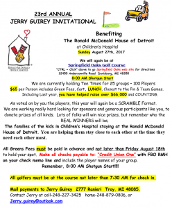 jerry guirey golf invitational 2017