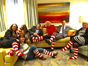 RMHC Team with Socks