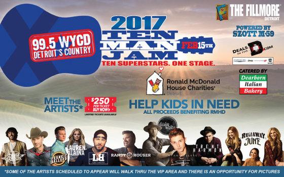 rsz 10 man jam email 600x375 - Ten Man Jam concert to raise funds for the Ronald McDonald House of Detroit
