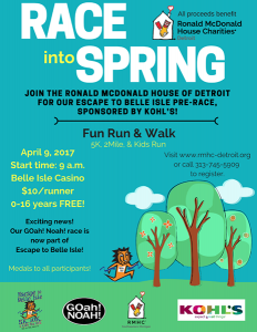 Race into Spring information