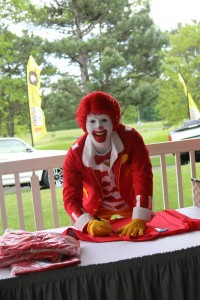 Ronald at Vinni's Golf Outing