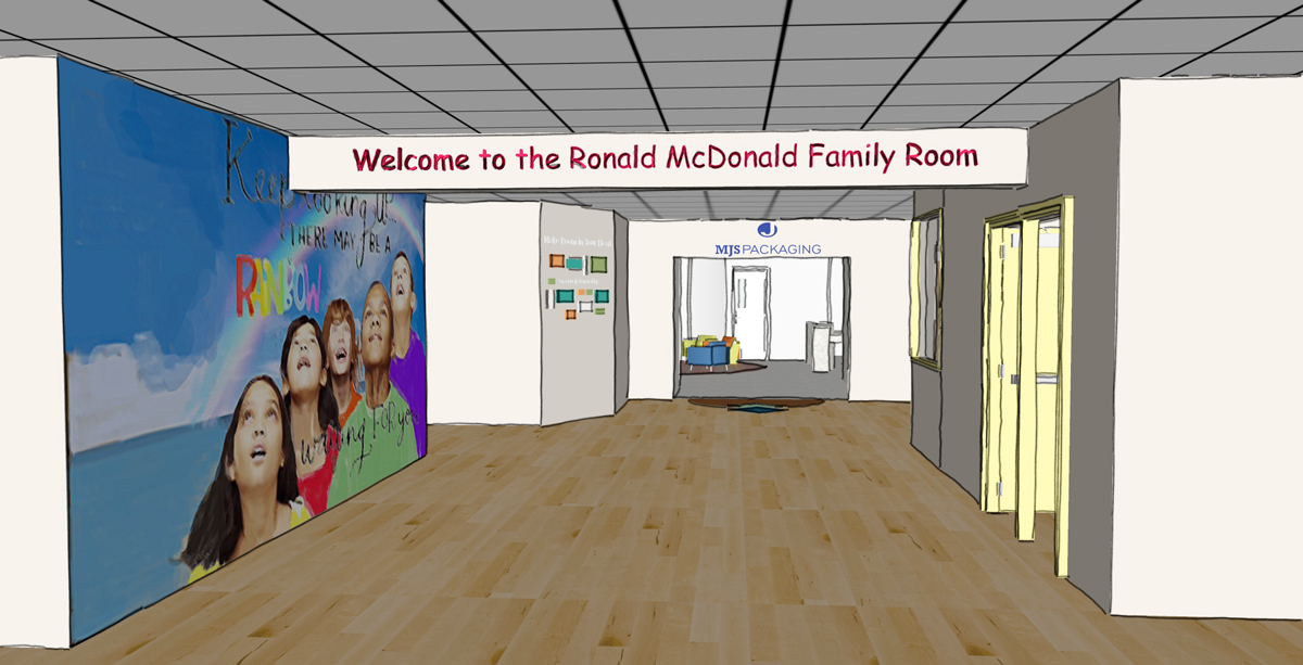 Family Room - Ronald McDonald House of Detroit